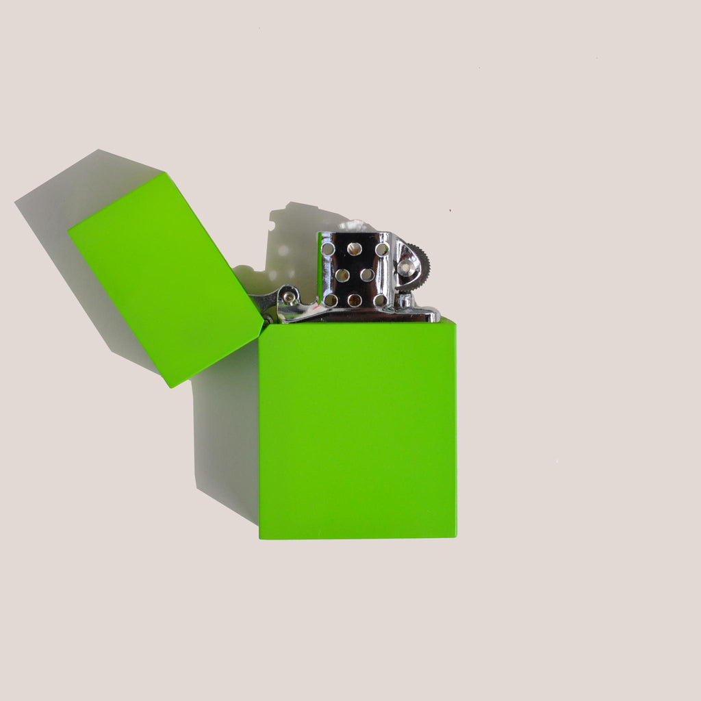 Tsubota Pearl - Hard Edge Lighter - Light Green, available at LCD.