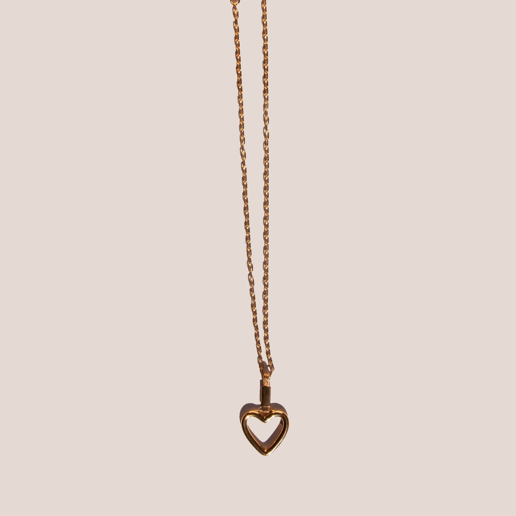 Ambush - Heart Necklace, available at LCD.