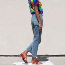 Load image into Gallery viewer, Simon Miller - High Rise Straight Leg Crop Jean, side view, available at LCD.