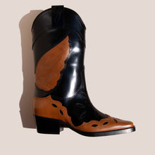 Load image into Gallery viewer, Ganni - High Texas Boot, side view, available at LCD.