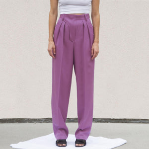 Ambush - High Waisted Trouser, front view, available at LCD.