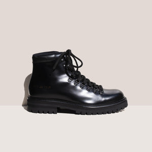Common Projects - Hiking Boot, side view, available at LCD.