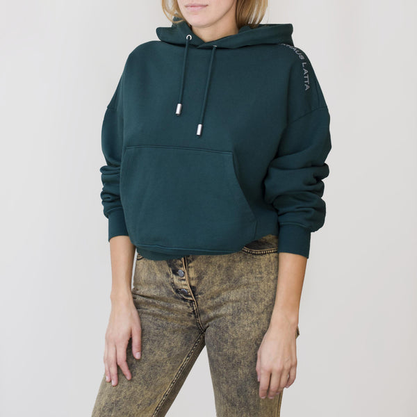 Eckhaus Latta - Hoodie - Ponderosa Pine, front view, available at LCD.