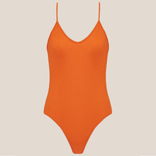 Load image into Gallery viewer, Bower Swimwear - Hutton One Piece Swimsuit - Burnt Orange, front view, available at LCD.