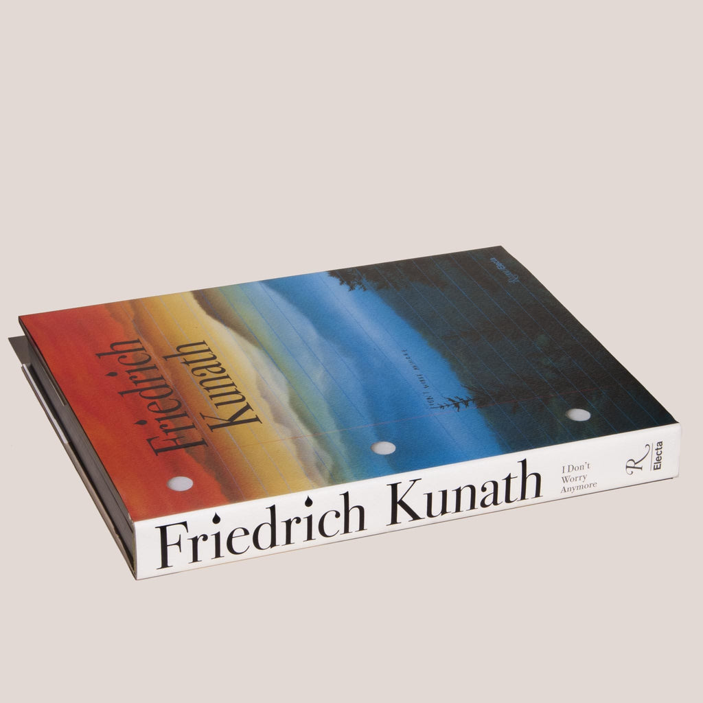 I Don't Worry Anymore by Friedrich Kunath, angled cover, available at LCD.