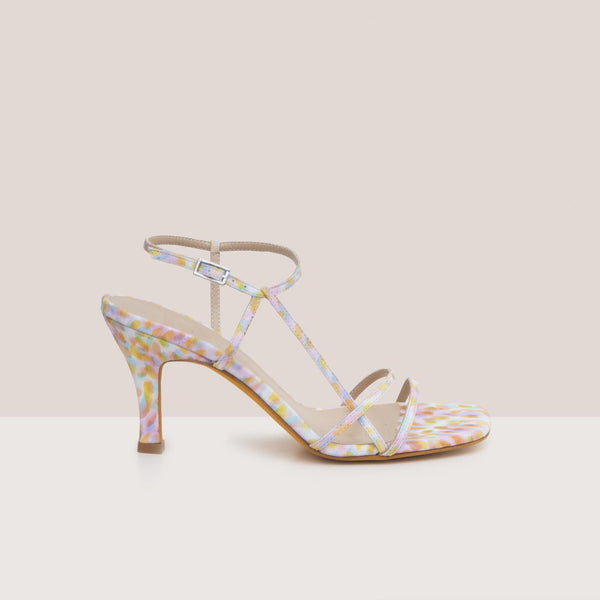 Maryam Nassir Zadeh - Irene Sandal - Kaleidoscope, side view, available at LCD.