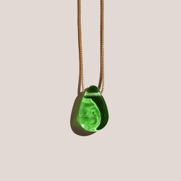 Forme & Sens - Jade Transparency Pendant, available at LCD.