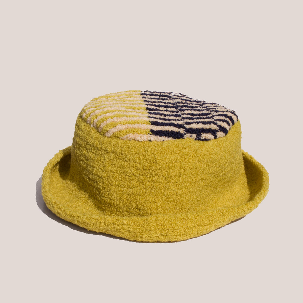 Eckhaus Latta - Jerome Hat in Tuscan Sun, front view.