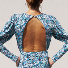 Load image into Gallery viewer, Rotate by Birger Christensen - Jersey Midi Dress, back view, available at LCD.