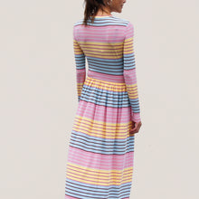 Load image into Gallery viewer, Stine Goya - Joel Dress - Stripe, back view, available at LCD.
