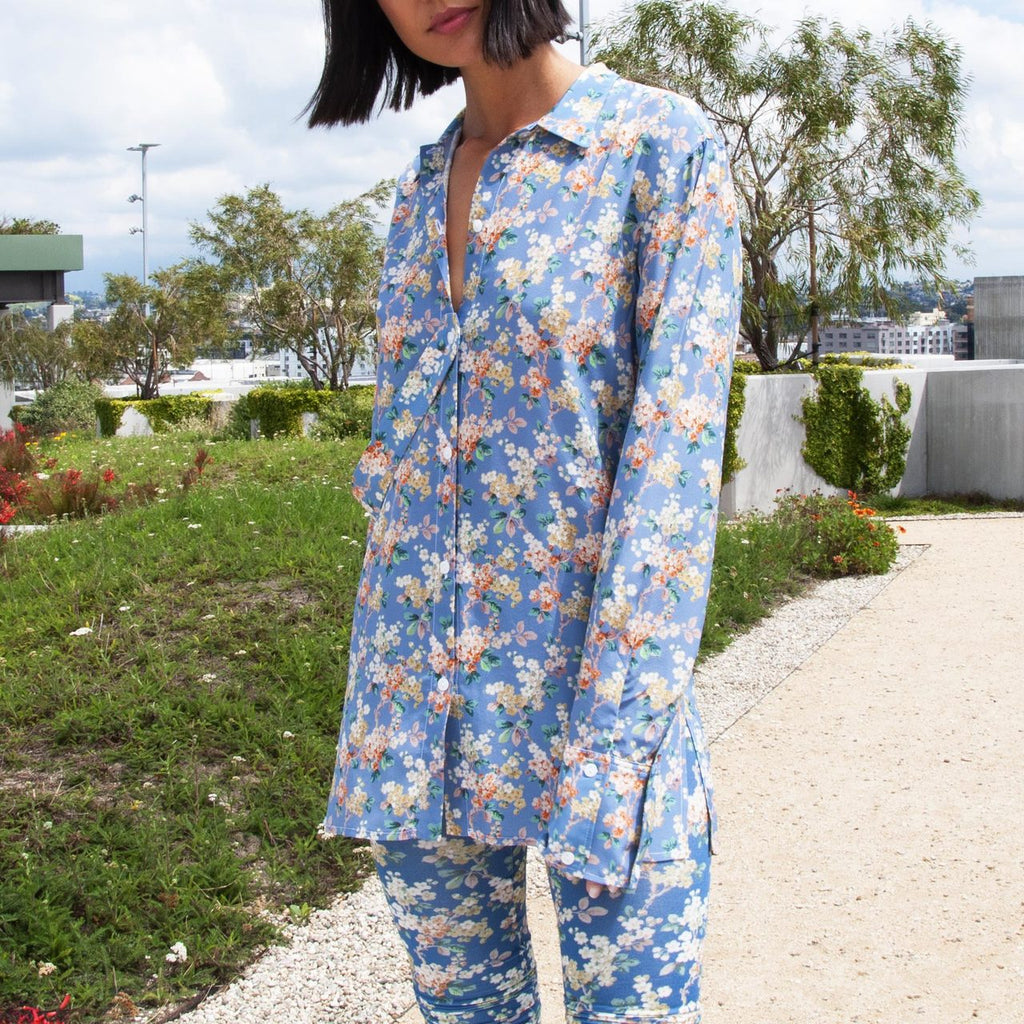 Delada - Josephine Oversized Shirt, available at LCD.