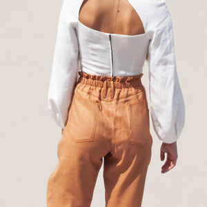 Rejina Pyo - Larissa Trousers, back view, available at LCD.