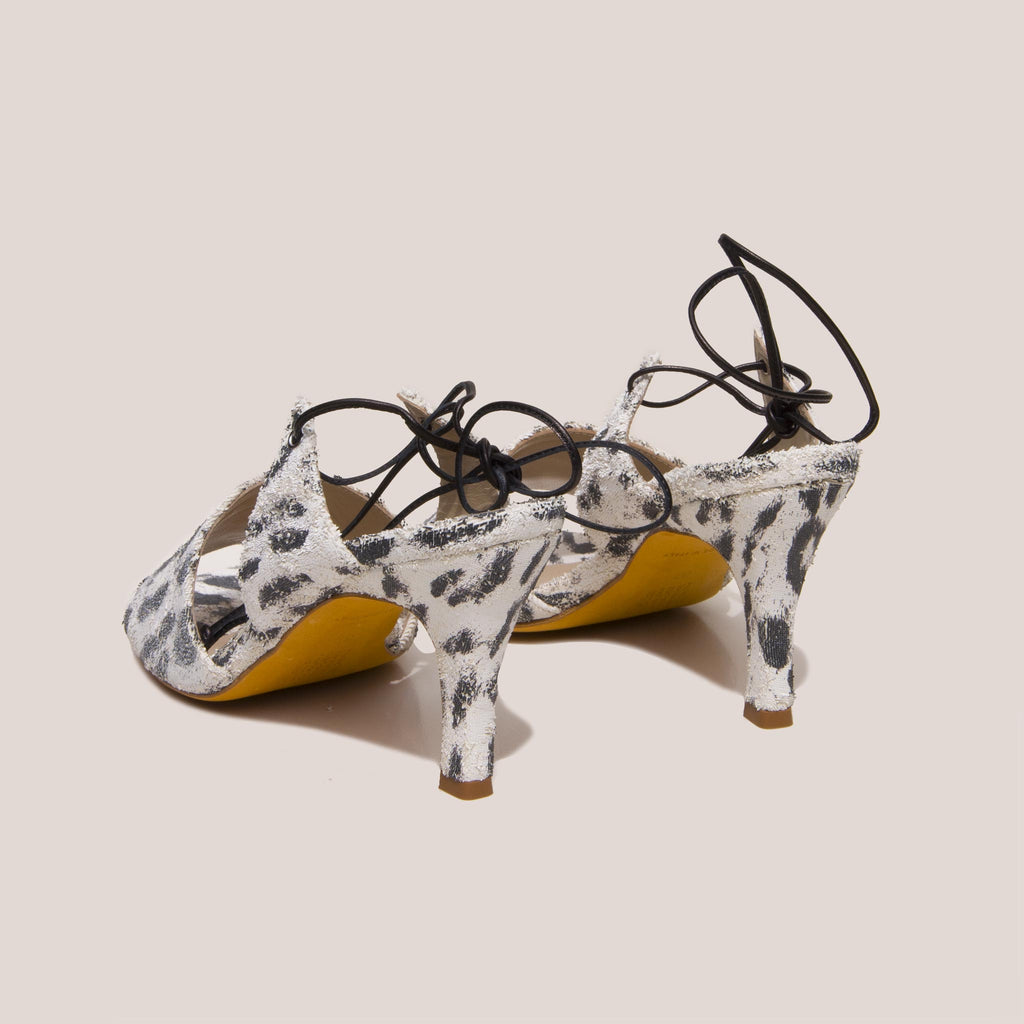 Maryam Nassir Zadeh - Lark Sandal, back view, available at LCD.