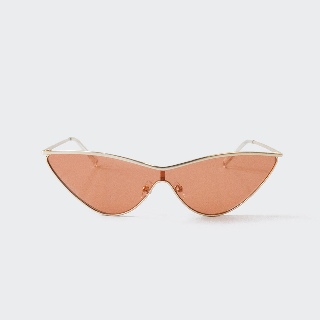 Adam Selman x Le Specs - The Fugitive Sunglasses - Gold, available at LCD
