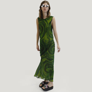 Collina Strada - Lawn Dress, front view, available at LCD.