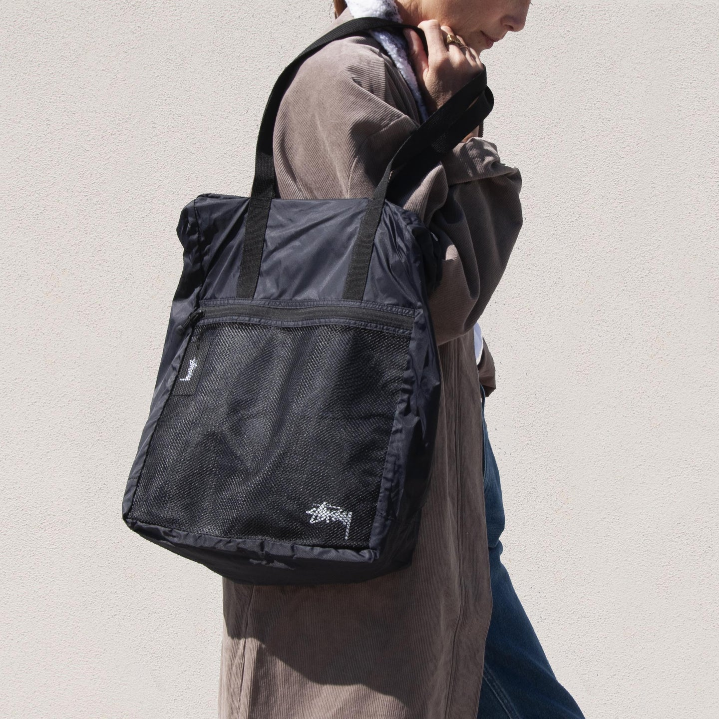 Stussy - Light Weight Travel Tote, available at LCD.