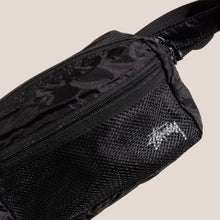 Load image into Gallery viewer, Stussy - Light Weight Waist Bag, front detail, available at LCD.