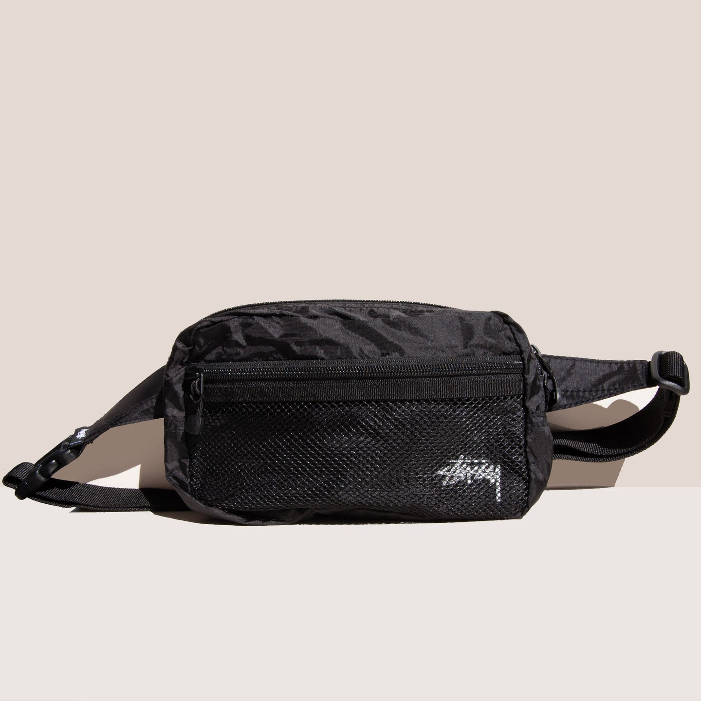Stussy - Light Weight Waist Bag, available at LCD.