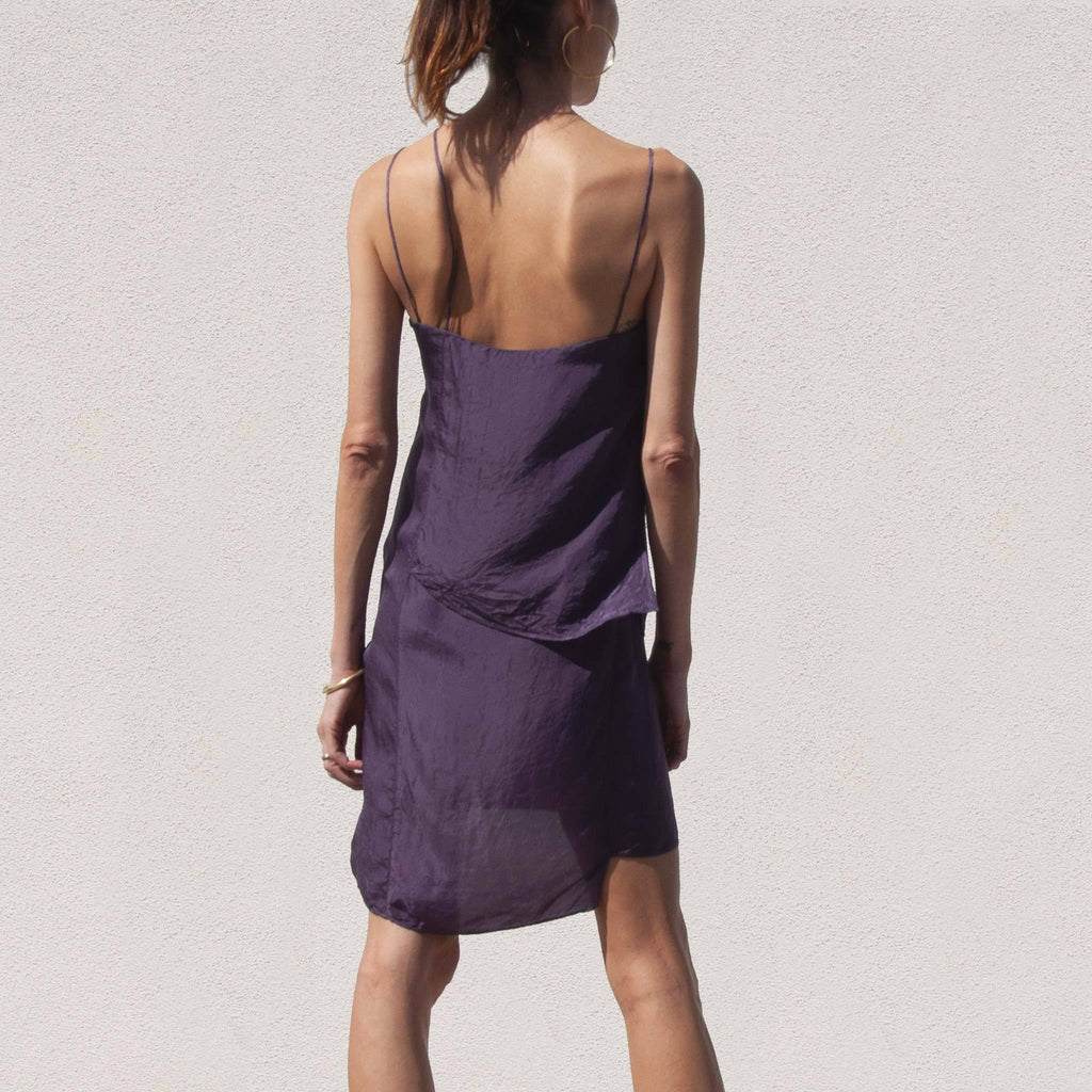 1017 Alyx 9SM - Lily Slip Dress, back view, available at LCD.