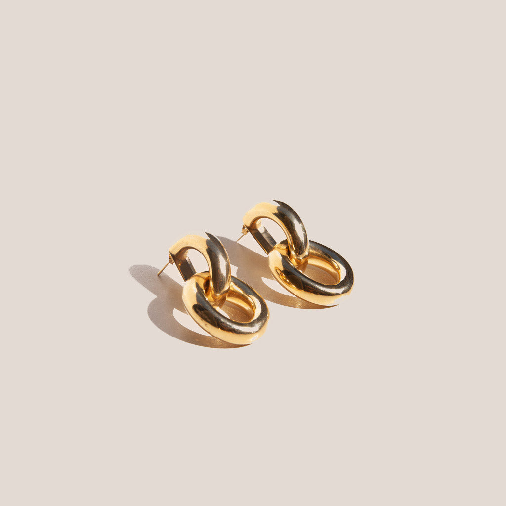 Gabriela Artigas - Link Earrings, available at LCD.