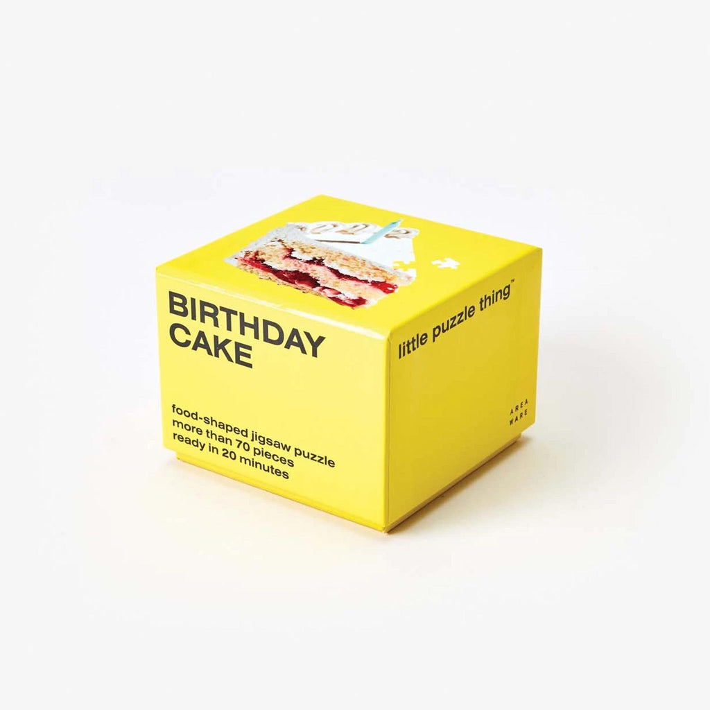 Areaware - Little Puzzle Thing - Birthday Cake, available at LCD.