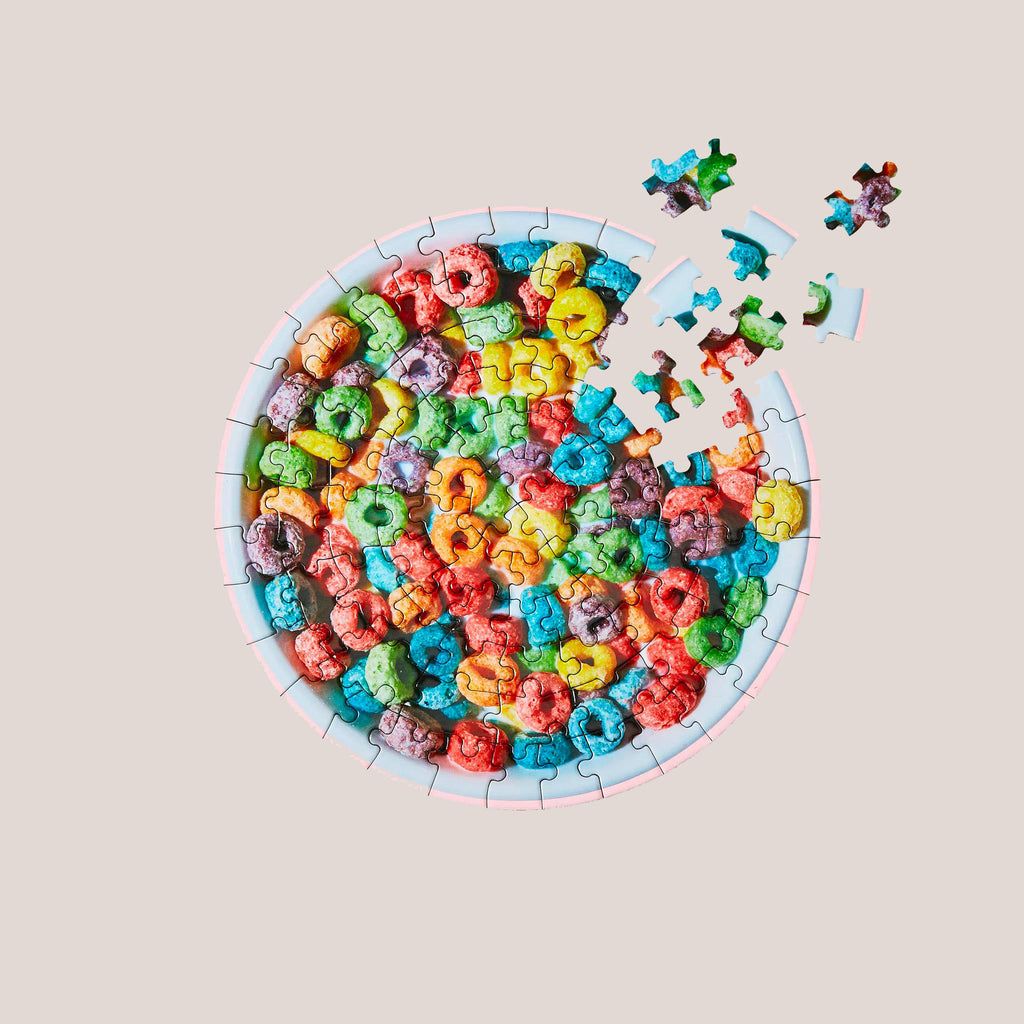 Areaware - Little Puzzle Thing - Cereal, available at LCD.