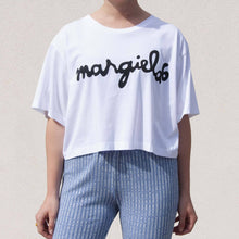 Load image into Gallery viewer, Margiela Logo Script Tee