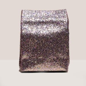 Simon Miller - Lunch Bag 20cm - Glitter Multi, detail view, available at LCD.