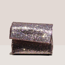 Load image into Gallery viewer, Simon Miller - Lunch Bag 20cm - Glitter Multi, front view, available at LCD.
