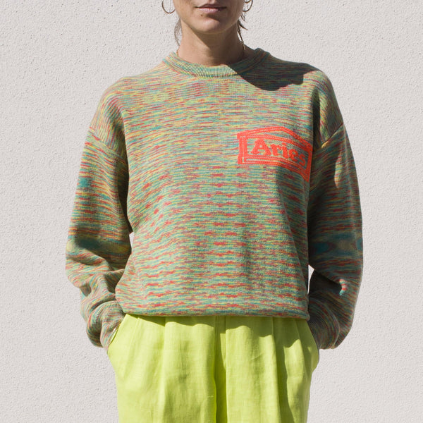 Aries -  Magic Eye Temple Sweater, front view.