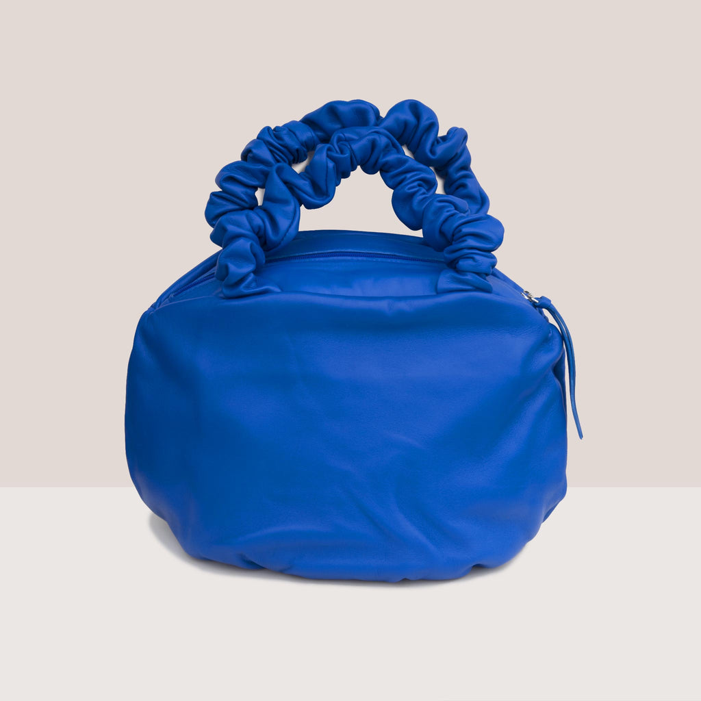 Maryam Nassir Zadeh - Margarita Bag - Blueprint, front view, available at LCD.