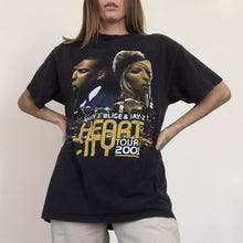 Load image into Gallery viewer, Procell Vintage - Vintage Mary J. Blige & Jay-Z Tour Tee, front view, available at LCD.