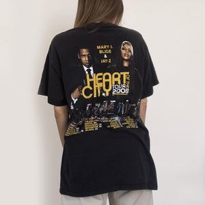Procell Vintage - Vintage Mary J. Blige & Jay-Z Tour Tee, back view, available at LCD.