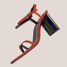Load image into Gallery viewer, Proenza Schouler - Mirrored Suede Sandal, side view, available at LCD.