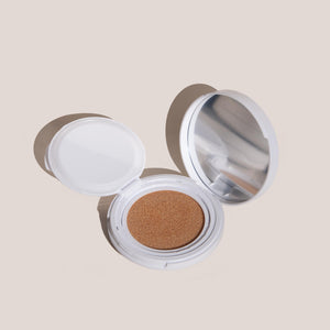 Cle Cosmetics - Essence Moonlighter Cushion, Glinting Buff, available at LCD.