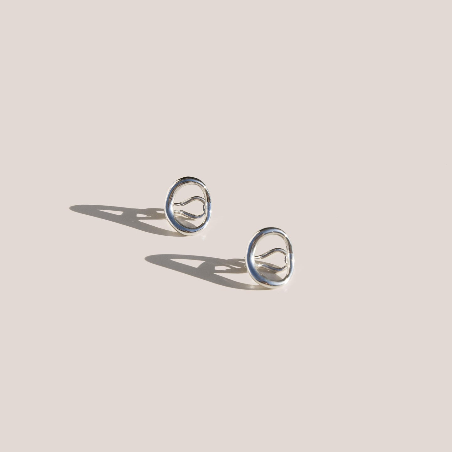 Charlotte Chesnais - Naho Earrings - Sterling Silver, available at LCD.
