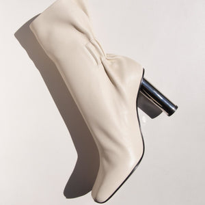 Proenza Schouler - Ruched Nappa High Boot, aerial view, available t LCD.