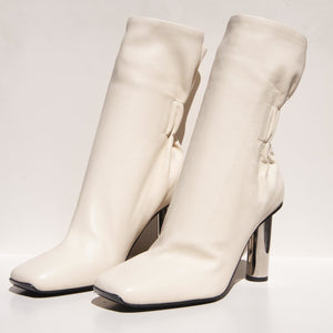 Proenza Schouler - Ruched Nappa High Boot, angled view, available t LCD.