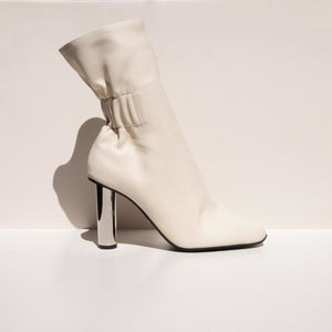 Proenza Schouler - Ruched Nappa High Boot, side view, available t LCD.