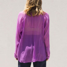 Load image into Gallery viewer, Mara Hoffman - Nazaret Shirt, back view, available at LCD.
