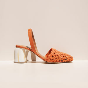LoQ - Nina Heel - Safron, side view, available at LCD.