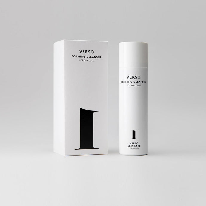 Verso - No. 1: Foaming Cleanser, available at LCD.