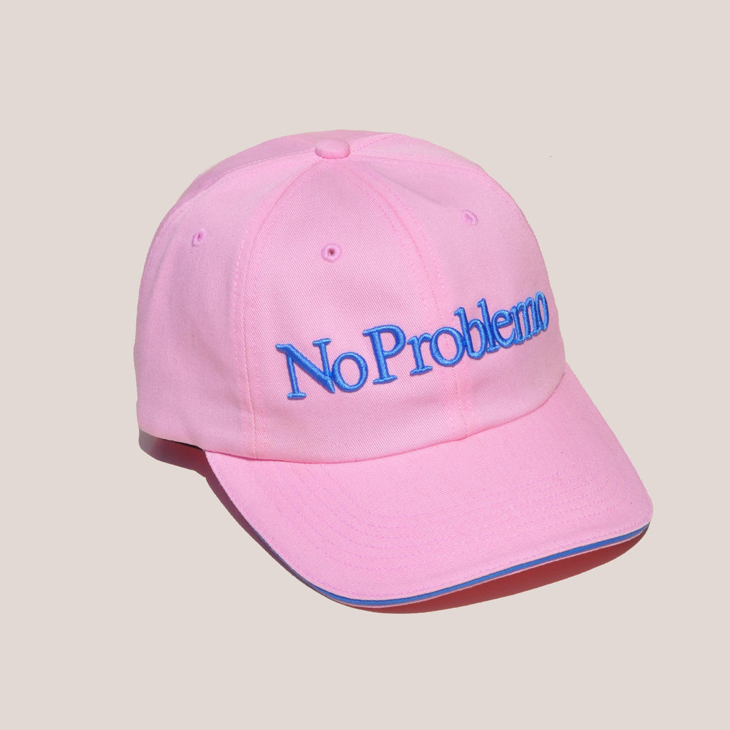 Aries - No Problemo Cap - Pink, angled view, available at LCD.