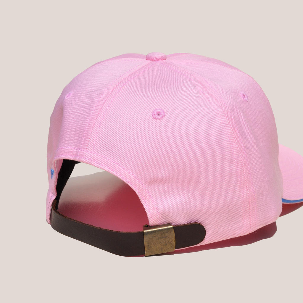 Aries - No Problemo Cap - Pink, bacl view, available at LCD.