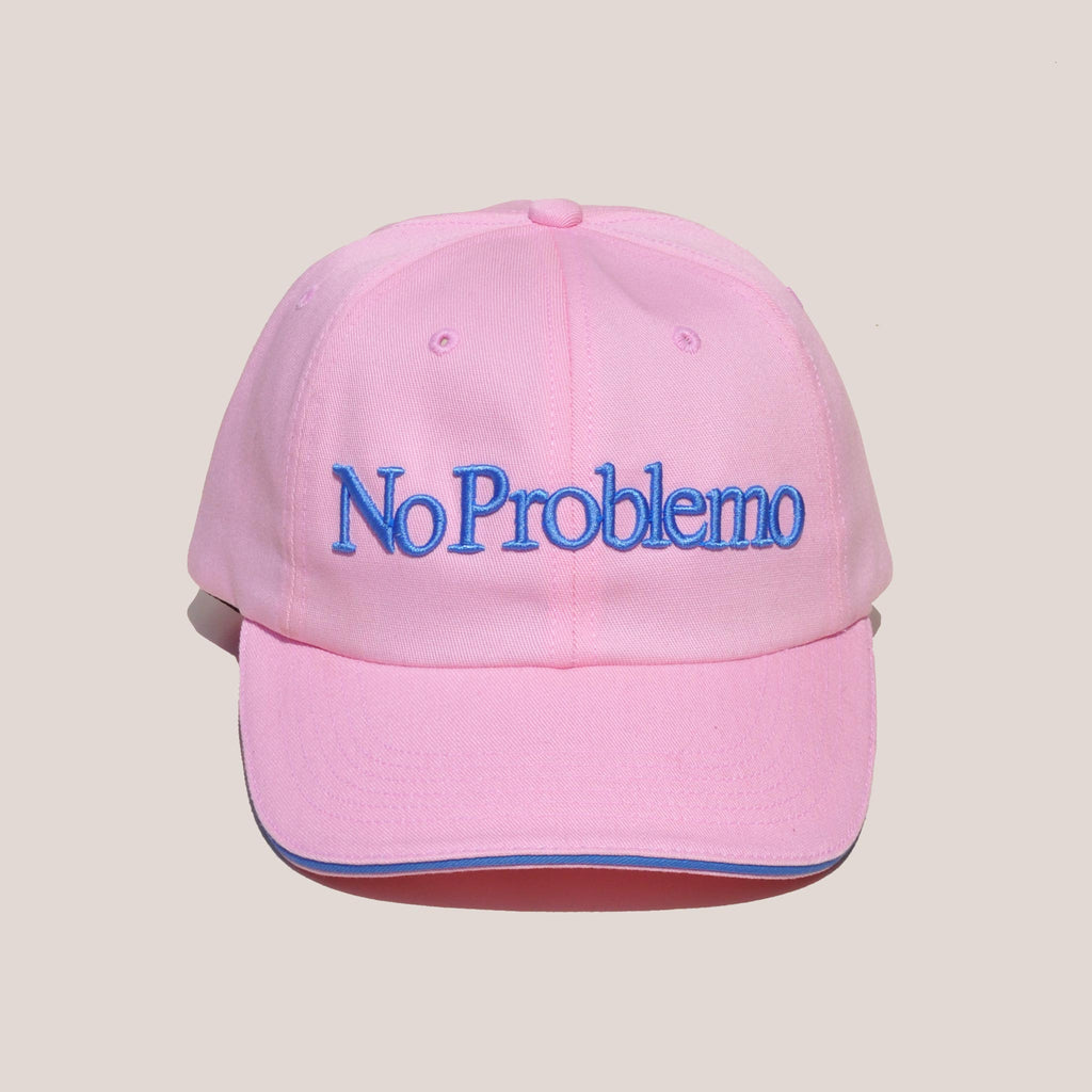 Aries - No Problemo Cap - Pink, front view, available at LCD.