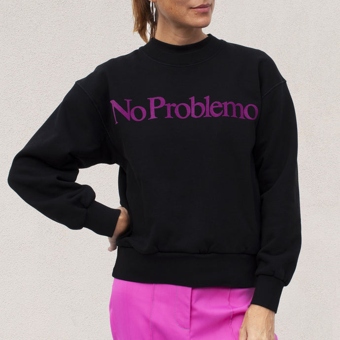 Aries - No Problemo Sweatshirt, front view, available at LCD.