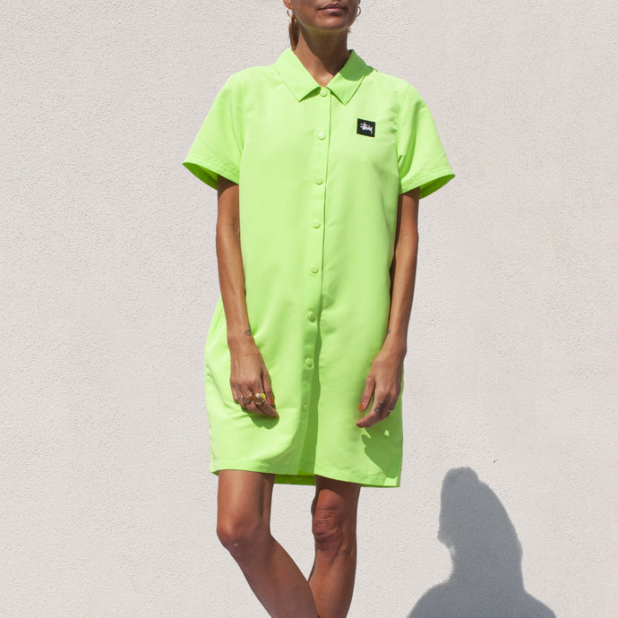 Stussy - Nomi House Dress, front view, available at LCD.
