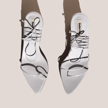 Load image into Gallery viewer, Reike Nen - Odd Pair Sandals - White, aerial view, available at LCD.