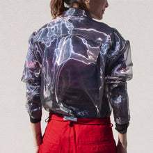 Load image into Gallery viewer, Ambush - Organza Shirt, back view, available at LCD.