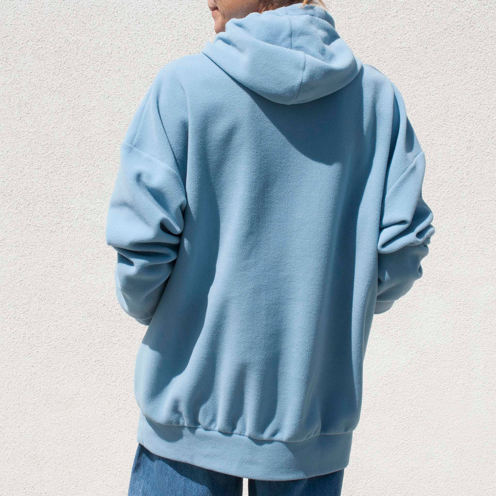 Priscavera - Oversized Hoodie - Heather Blue,  available at LCD.